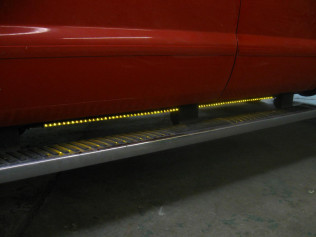 Big Rig Style LED Running Lights