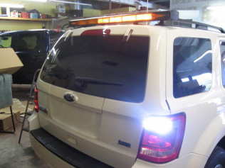 Arrowstick and Strobes on Ford Escape